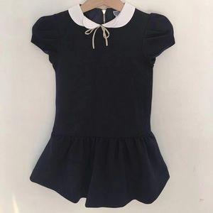 Jacadi girls navy occasional dress uniform